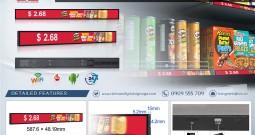 Màn hình Quảng cáo dài Stretched LCD Displays